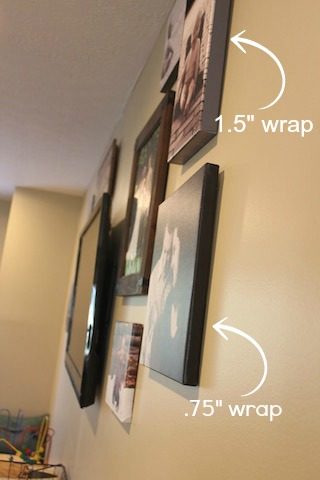 wrap sizes 1.5 vs .75