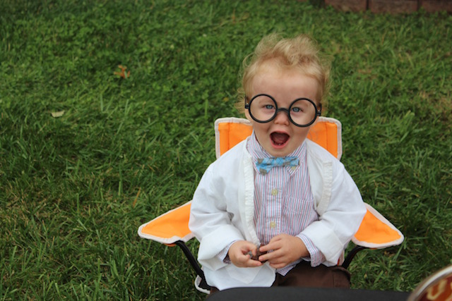 DIY mad scientist costume halloween