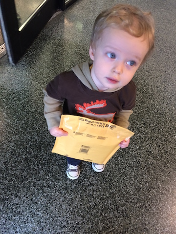 helping mail packages