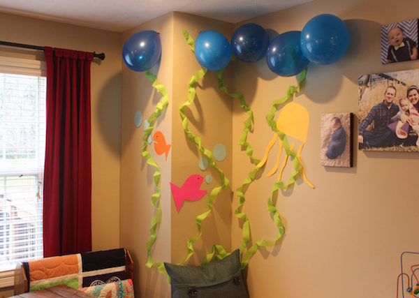 Hudson's Under the Sea birthday party