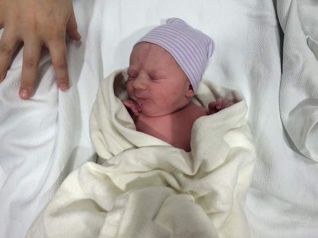 Parker's birth story