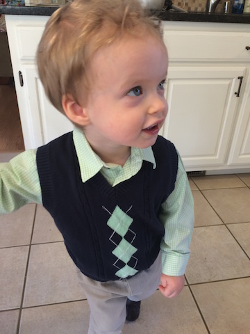 sweater vest for church