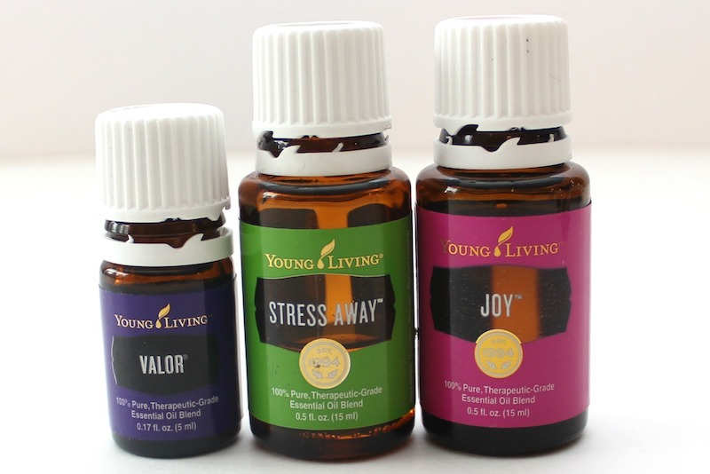 Young Living Valor, Stress Away, and Joy