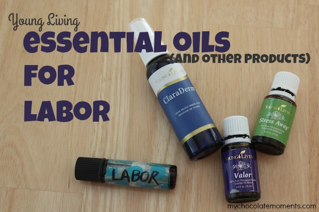 Young Living essential oils and products for childbirth