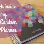 a peek inside my Erin Condren Life Planner