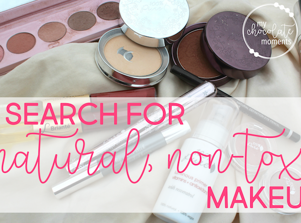 my natural makeup search – what I found and what I'm loving