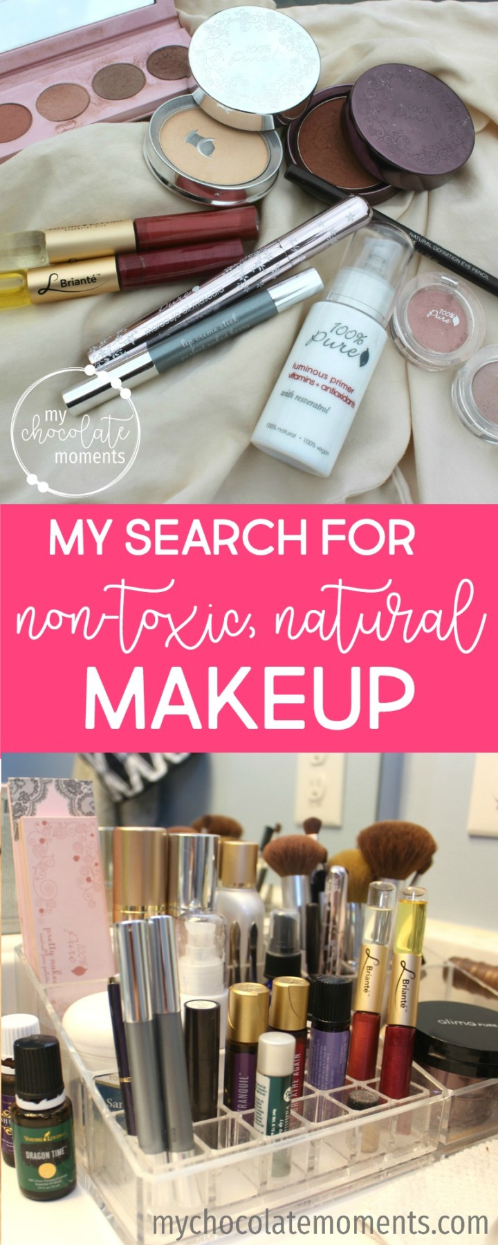 natural, non-toxic makeup alima pure and 100 percent pure