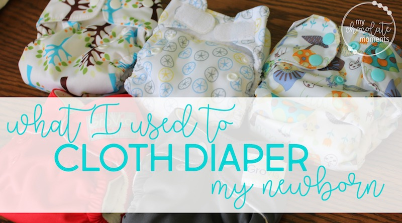 what I used to cloth diaper my newborn