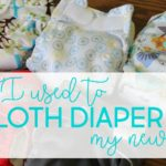 our newborn cloth diapering stash