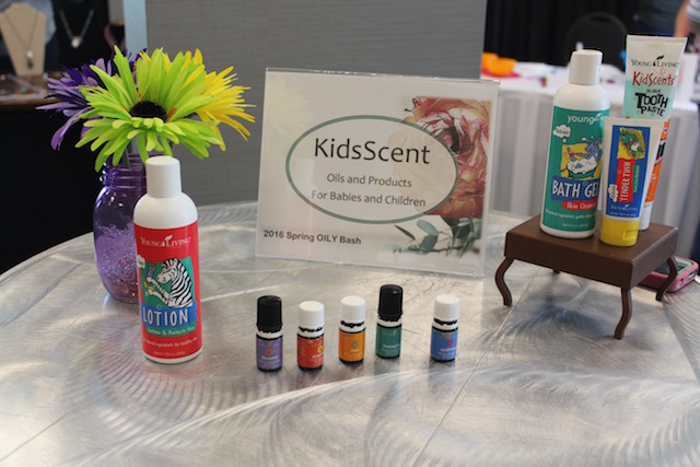Spring Oily Bash - kidscents products