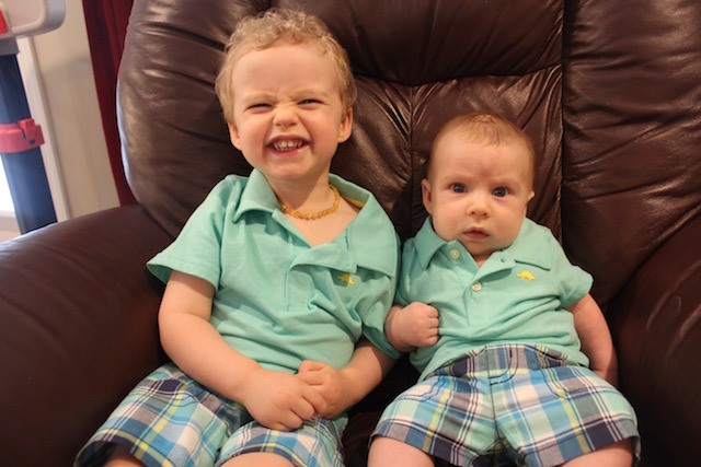 matching Carter's outfits