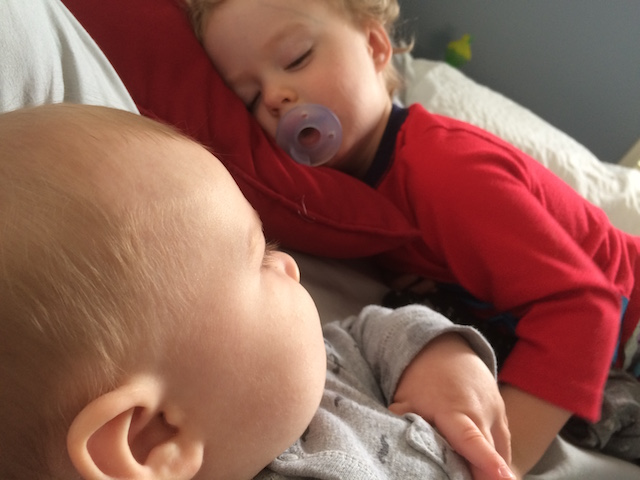 sleeping brothers