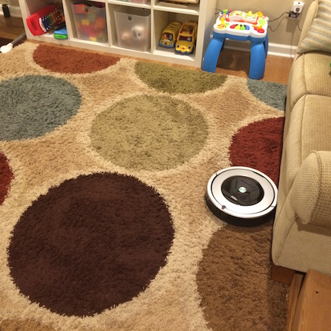 our new Roomba