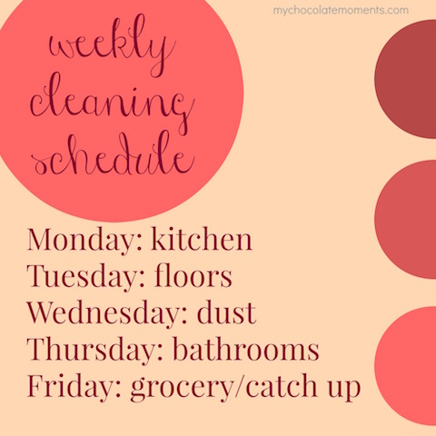 my-weekly-cleaning-schedule