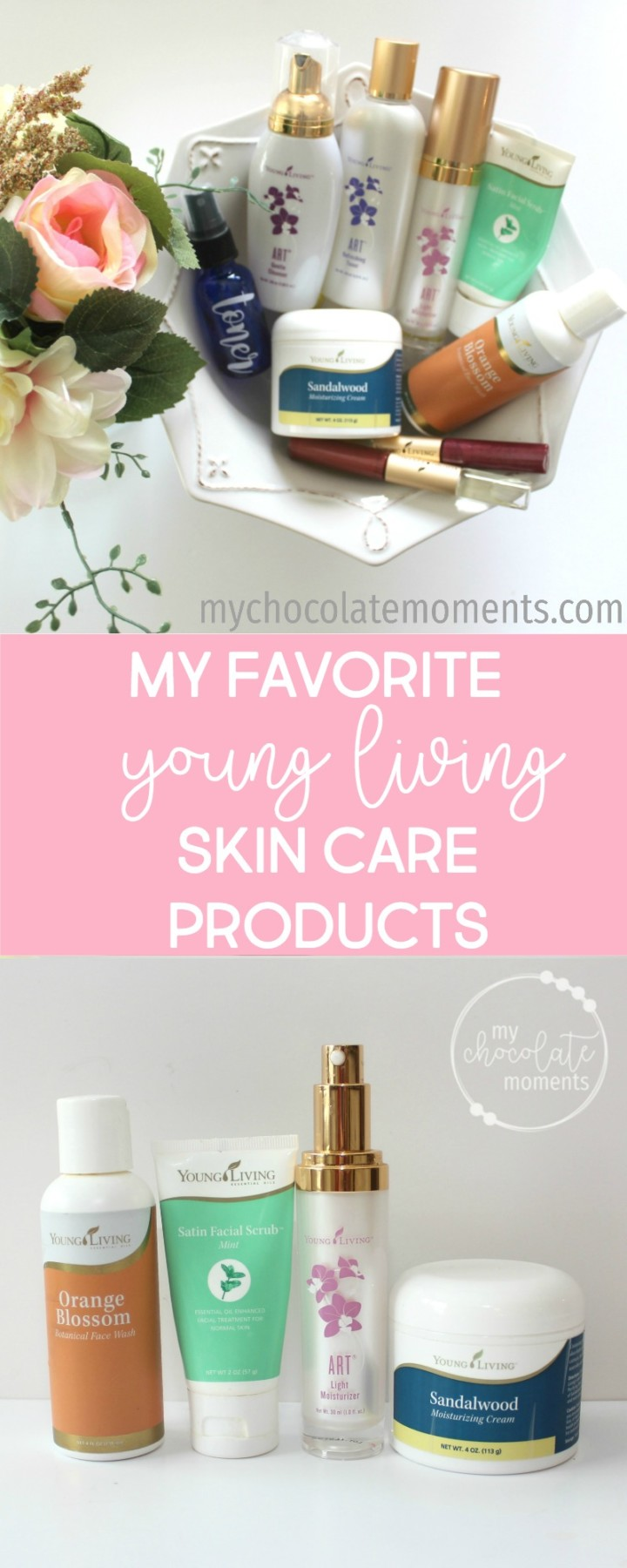 My favorite Young Living skin care products and what I use on a daily basis to keep my skin looking great