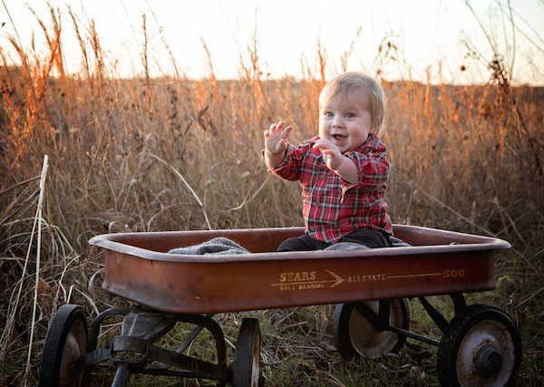 Parker's 9 month pictures + fall family pictures
