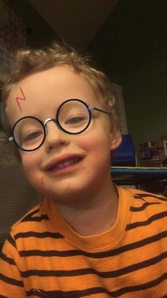 Harry Potter snapchat
