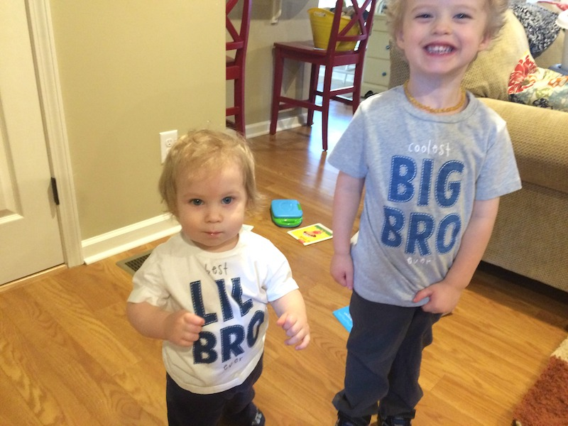 Big Brother, Little Brother shirts