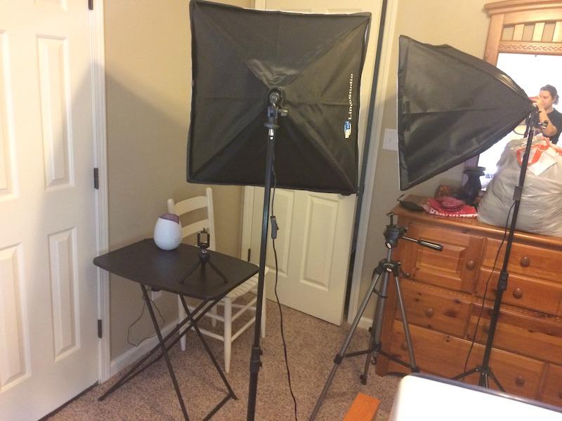 new lighting set up