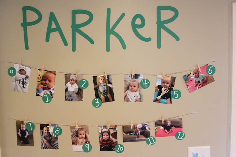 picture banner for first birthday