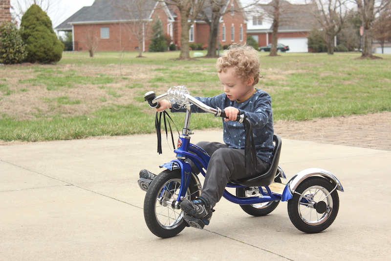 new tricycle for 3rd birthday