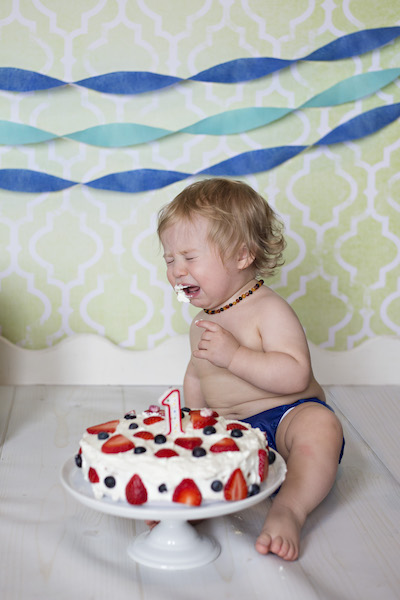 Parker's one year cake smash pictures