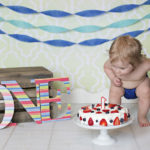 Parker's one year and cake smash pictures