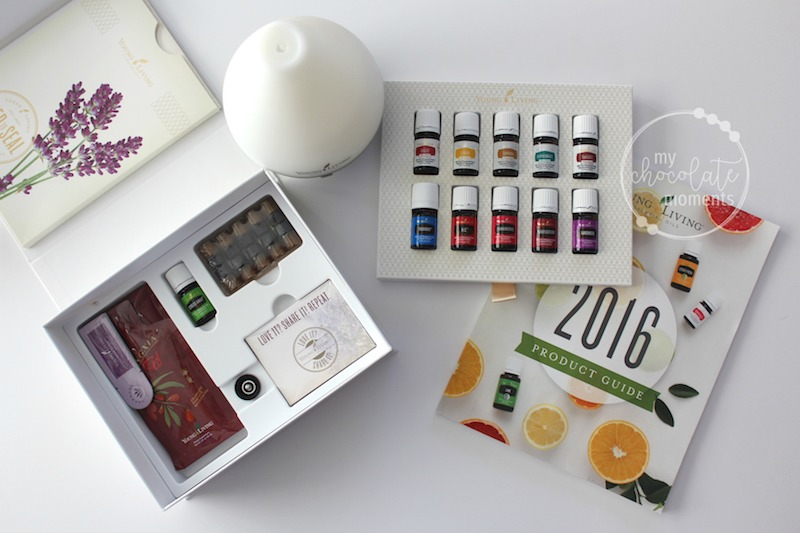 how to order essential oils and get started with Young Living's premium starter kit