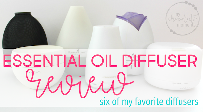 best essential oil diffuser: a review of six of my favorite diffusers