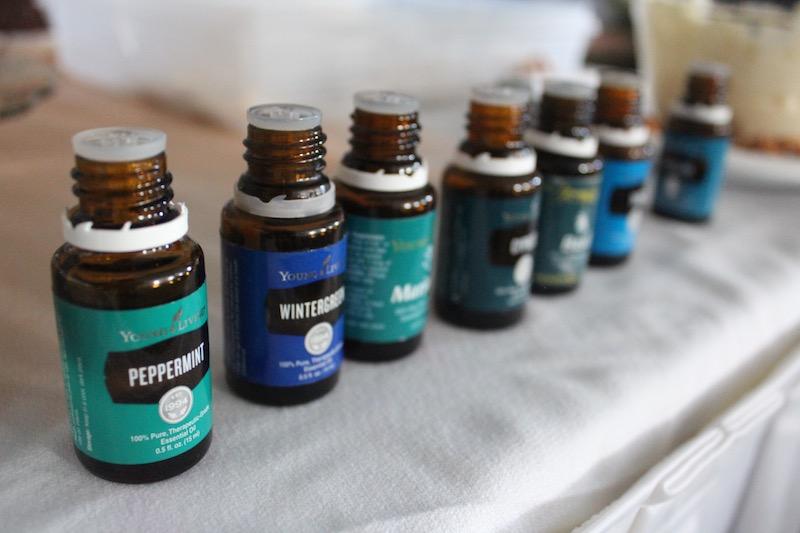 essential oil raindrop oils
