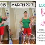 Losing the baby weight: how I'm doing it