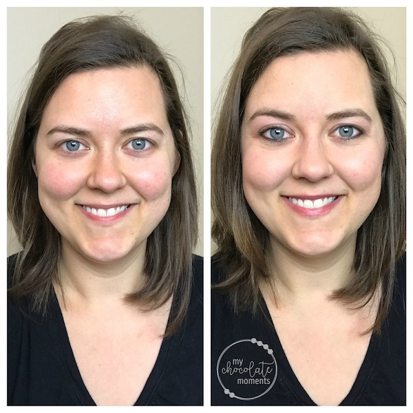 5 minute makeup tutorial before and after