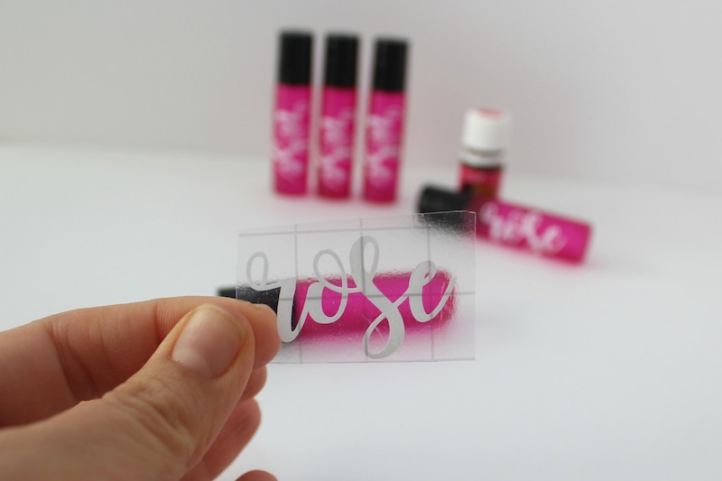 How To Make Diy Essential Oil Roller Bottle Labels With Your