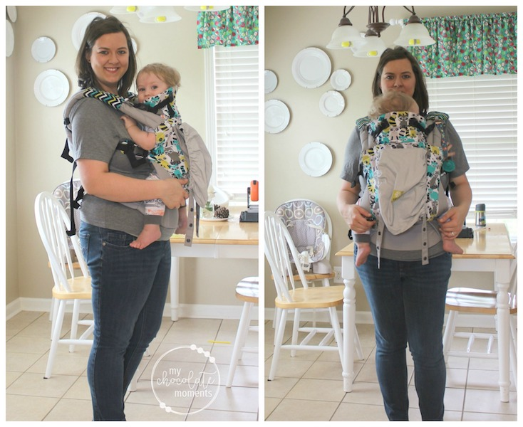Lillebaby review: Lillebaby Complete original Rowdy Raccoons with a one year old
