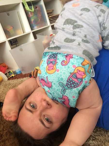March family update - sitting on my head