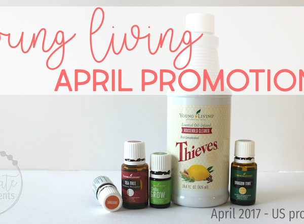 Young Living's April Promotions 2017
