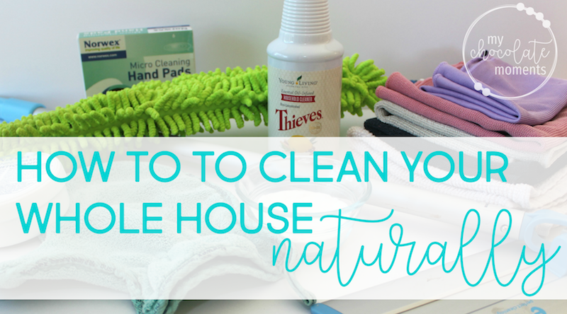 how to clean your whole house naturally