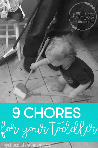 9 chores for your toddler | chores for one and two year olds