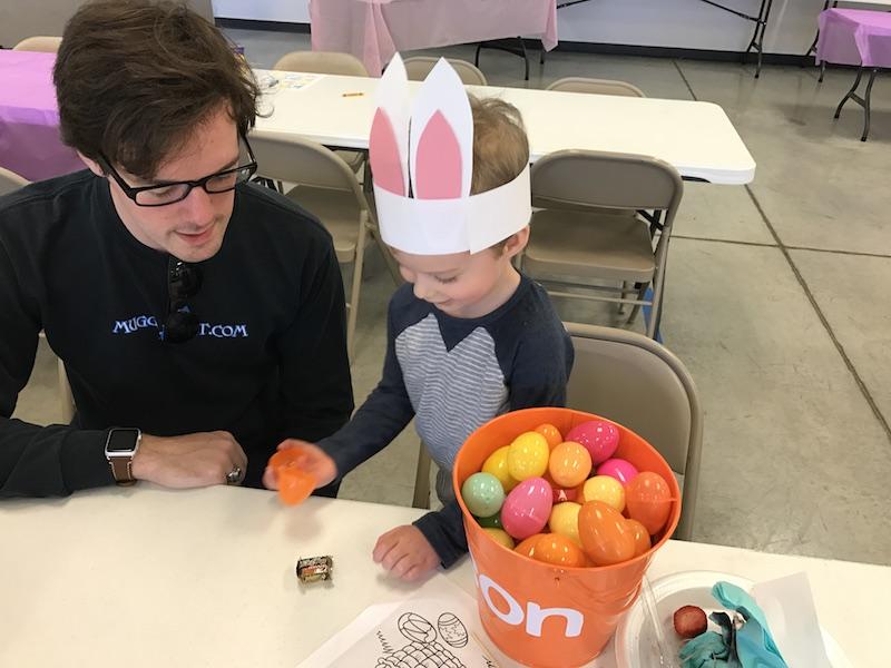 Easter egg hunt loot