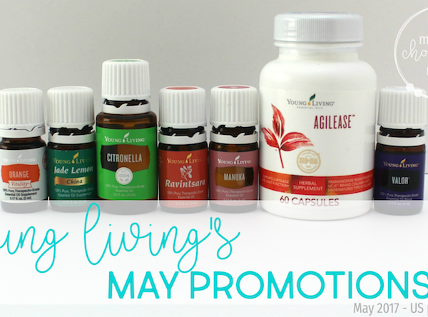 Young Living May Promotions 2017