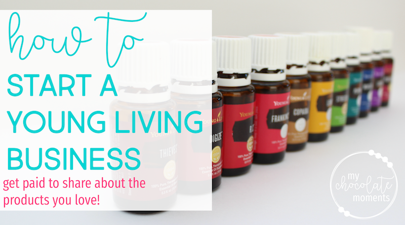 how to start a Young Living business selling essential oils | Young Living income | sell Young Living
