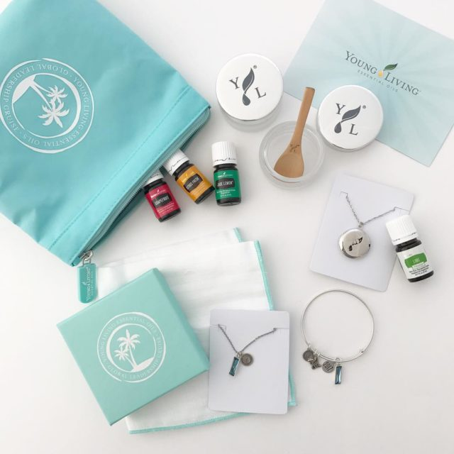 This fun package full of goodies from Young Living showedhellip