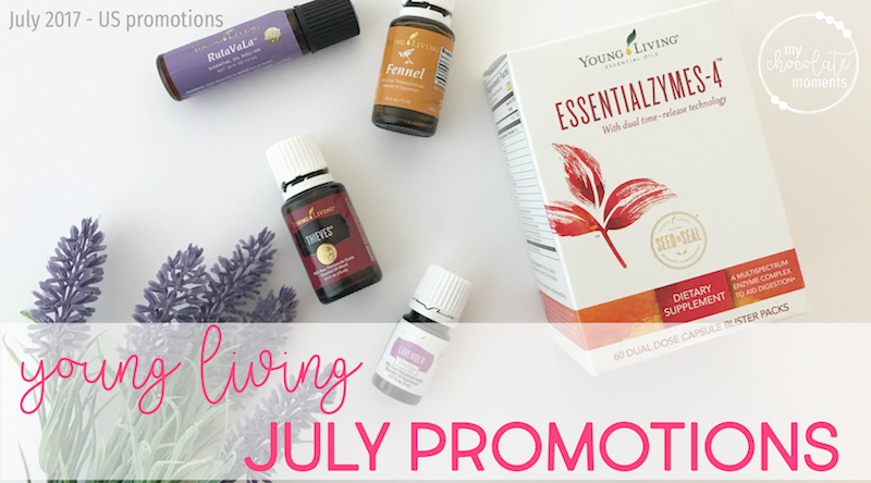 Young Living's July 2017 promotions