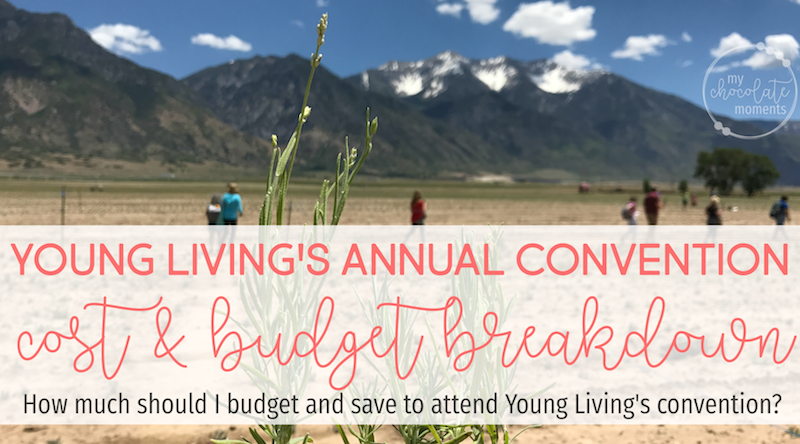 Young Living convention cost breakdown and budget suggestions