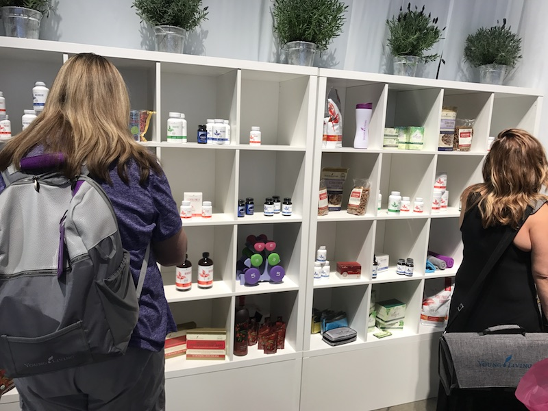 product expo Young Living convention