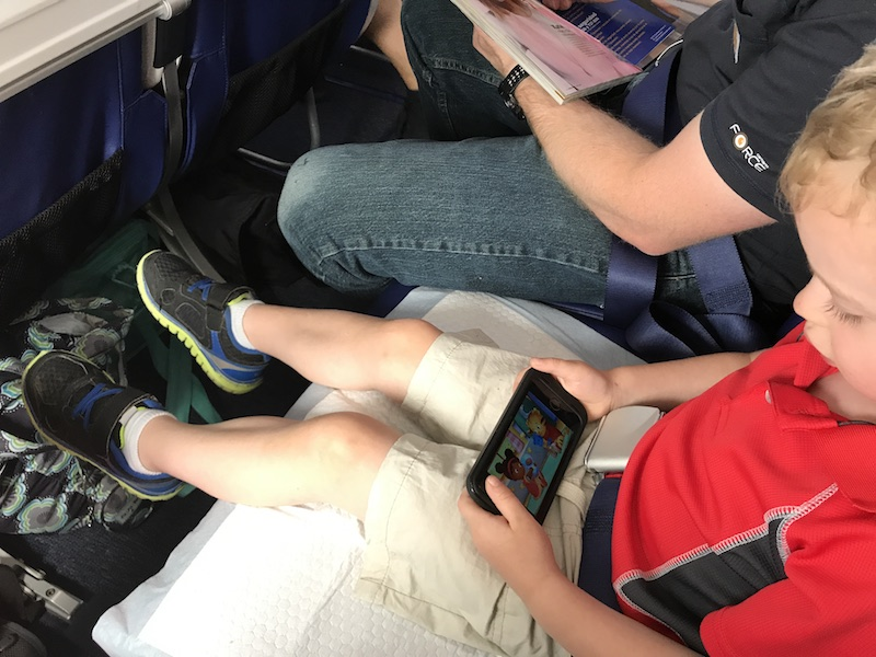 tips for flying with toddlers who are potty training
