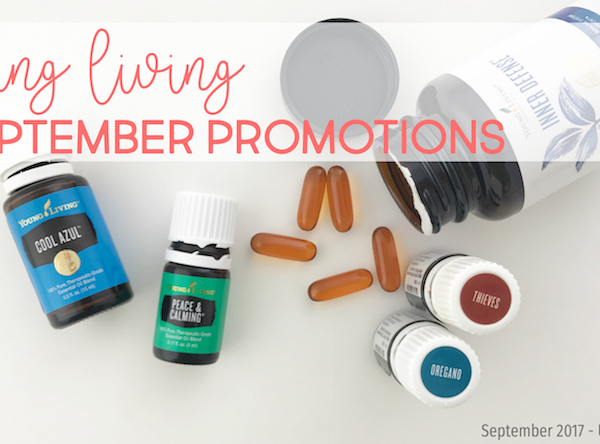 Young Living's September 2017 Promotions