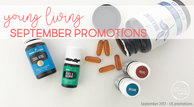 Young Living September 2017 Promotions