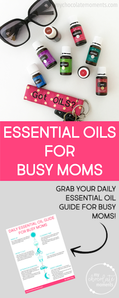 A guide to essential oils for busy moms plus FREE download | essential oils | parenting | Young Living | #essentialoils
