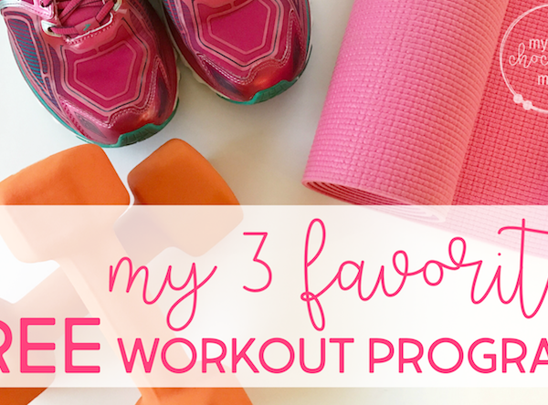 getting fit doesn't have to be expensive: 3 free workout programs I love